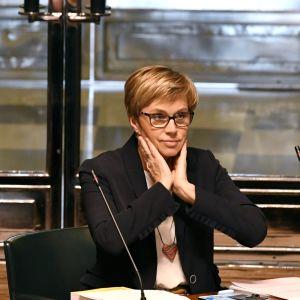 Joakim Strand och Veronica Rehn-Kivi.