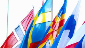 Nordiska flaggorna