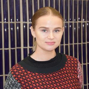 Närbild på Sandra Itäinen