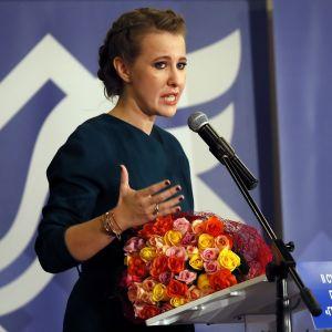 Presidentkandidaten Ksenia Sobtjak