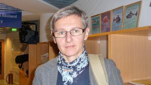 Mona Lehtonen är ombudsman för pensionärsförbundet i Åboland.
