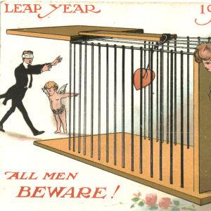 Skottdagskort från 1908.