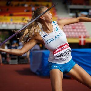 Elina Kinnunen, JVM 2018.