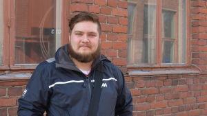 Emil Höckerstedt, studerande vid Aboa Mare