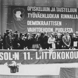 Sosialistisen opiskelijaliiton liittokokous vuonna 1977