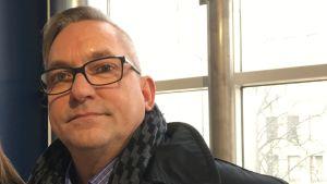 Leif Holmlund, direktör för hem- och anstaltsvården i Vasa.