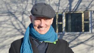 Markus Drake (De gröna), kandiderar i riksdagsvalet 2015 i Nyland