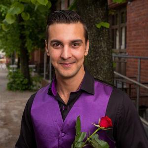 Benjamin Enroth Tangomarkkinat 2016 -kilpailija.