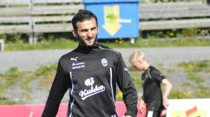 Irakli Sirbiladze är anfallare i KuPS.