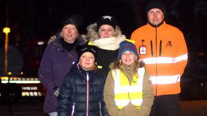 Solveig Holmberg, Daniela Lindström, Freja Signell och Erin Stenström.
