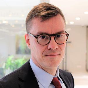 Pasi Kokkonen, ansvarig tjänsteman vid Finlands representation i Bryssel.