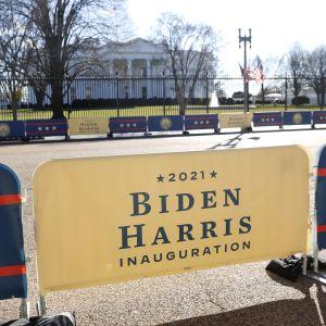 Joe Bidenin ja Kamala Harrisin virkaanastujaiset ovat 20. tammikuuta.