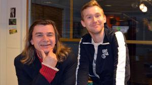 """Mats """"Mata"""" Lundberg och Janne Isaksson i Sportpanelen"""