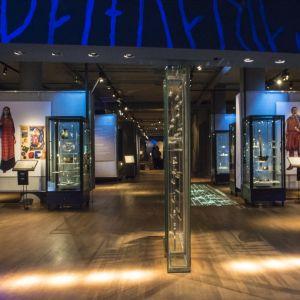 vikingautställning på Historiska museet i Stockholm