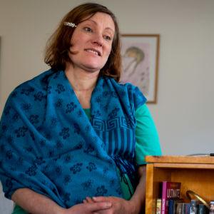 Catarina Johansson i Raseborg har arbetat på deltid med bioresonans.