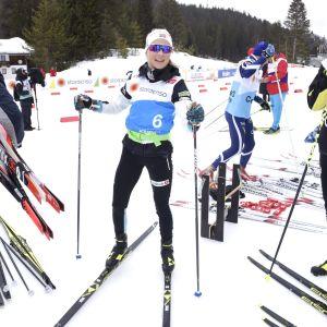 Therese Johaug tränar inför första VM-starten