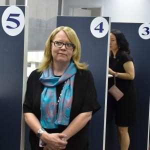 Johanna Manni, konsul vid Finlands generalkonsulat i Hongkong.