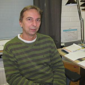 Biträdande överläkare Kenneth Wilson.