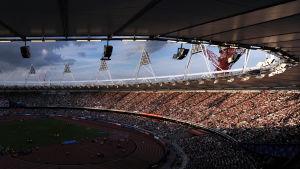Londons Olympiastadion, 2013.