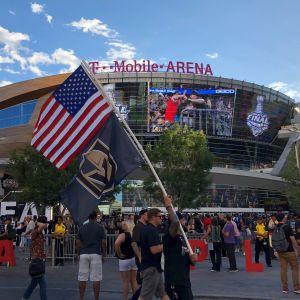 Det var somriga förhållanden i Las Vegas under Stanley Cup-finalserien sommaren 2018.