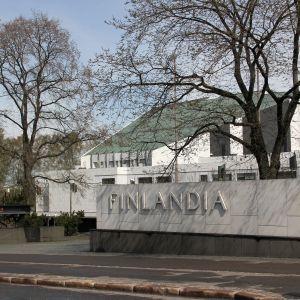 Finlandiahuset i Helsingfors.