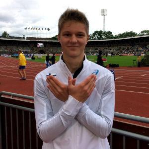 Casper Tillander, Sverigekampen 2017