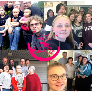 Kuvagalleria Kutsu Yle kahville -tempaukseen osallistuneista ihmisistä. Neljä kuvaa, joissa erilaisia ihmisiä erilaisissa ympäristöissä.