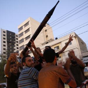 Gazabor firar eldupphör.