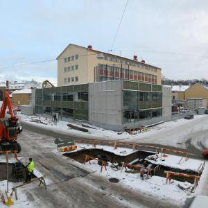 Turun kirjasto rakenteilla
