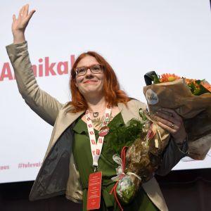 Annika Rönni-Sällninen, ordförande för Servicefacket PAM