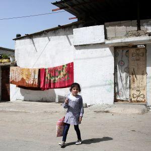 Palestinsk skolflicka