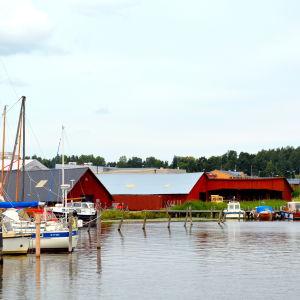 Wilenius varv och Borgå å