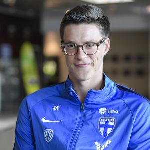 Sauli Väisänen har spelat åtta landskamper för Finland.