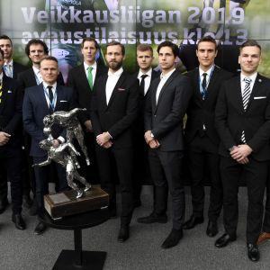 Ligaklubbarnas lagkaptener redo för säsongstarten