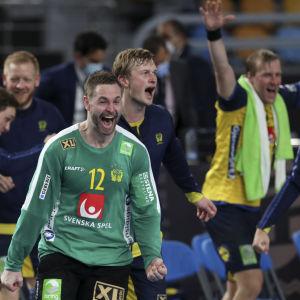 Sveriges handbollsmålvakt Andreas Palicka