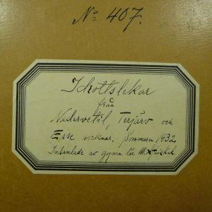 Pärmen till en del av gymnastikläraren Maximilian Stejskals doktorsavhandling där han kartlagt allmogens friluftslekar.