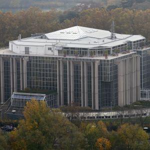Interpols högkvarter i Lyon i Frankrike