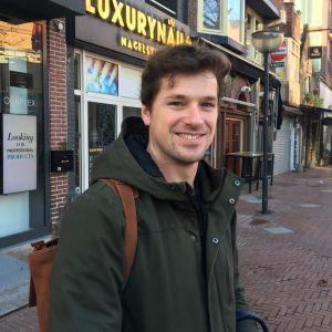 Rens Mulder, en ung man från Eindhoven.