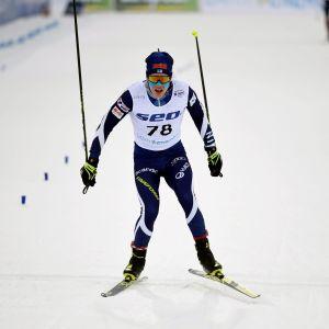 Petteri Koivisto var bästa finländare i U20 VM på 10 km