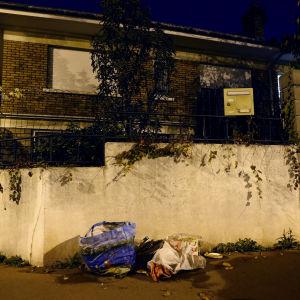Bombbältet hittades här i Montrouge, nära Paris.