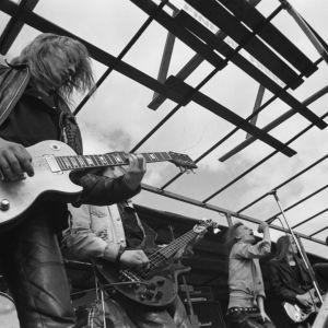 Smack esiintyy Helsingin Hietaniemessä vuonna 1984.