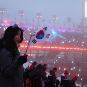 De paralympiska spelen avgörs i Sydkorea.
