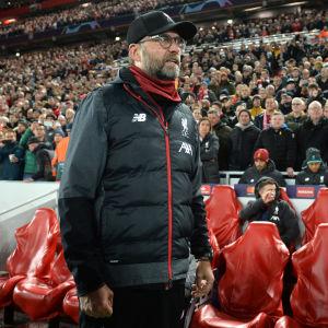 Jürgen Klopps Liverpool fick bara 1–1 hemma mot Napoli.