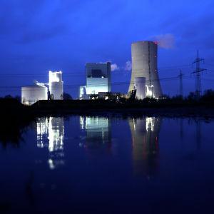 Dattelnissa sijaitseva Uniperin hiilivoimala.