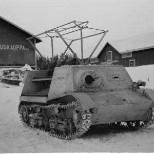 3.1.1940 Kunnostettu, vallattu tankki.Rovaniemi.