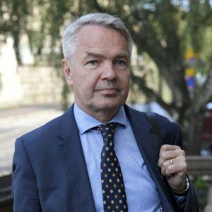 Utrikesminister Pekka Haavisto