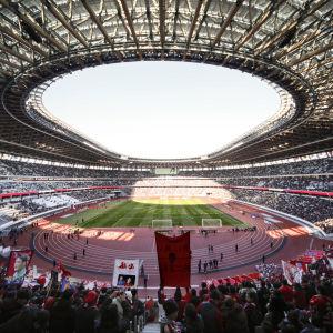 Tokyos Olympiastadion.