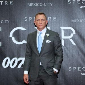 Daniel Craig inför premiären för Spectre i Mexico City i november 2015.