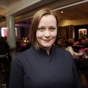 Feministiska partiets ordförande Katju Aro.