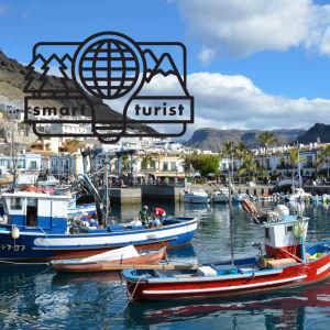 Fiskebåtar på Gran Canaria.